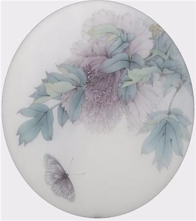 烟绒紫牡丹怎么画?烟笼紫玉盘的画法是什么?