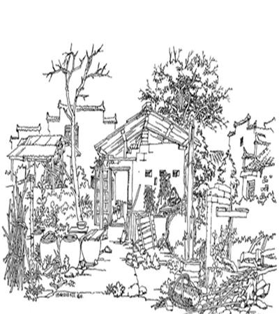 农家房子怎么画?有哪些绘画步骤?