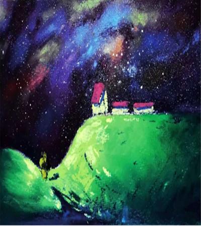 星空下的景色怎么画?星空绘制要点是什么?