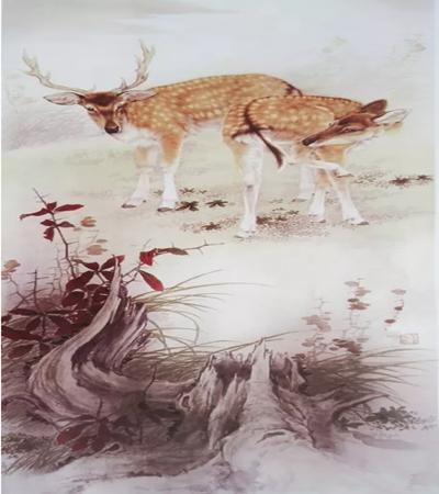 梅花鹿工笔画怎么画?梅花鹿的两种画法是什么?