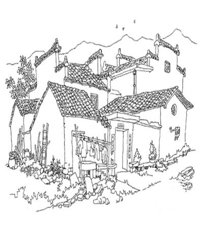 古老房屋怎么画?怎么画才显得生机勃勃?