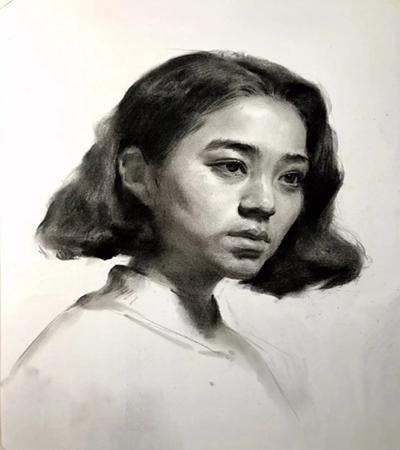 短发女青年怎么画?简单的绘画步骤有几步?