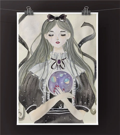 魔女紫水晶怎么画?小魔女的漫画教程是什么?