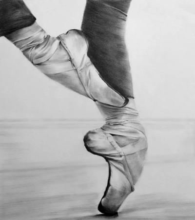 芭蕾舞脚怎么画?详细的步骤分享