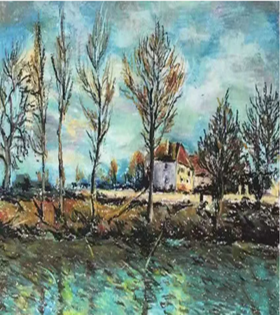 拉格朗亚特风景怎么画?有哪些油画步骤?