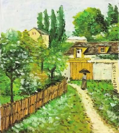 小院子怎么画?有哪些油画步骤?