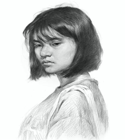 年轻女性怎么画?女青年的素描画法是什么?
