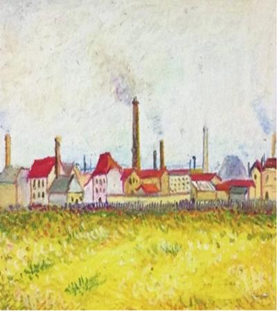 阿斯尼尔口工厂怎么画?绘画过程是什么?
