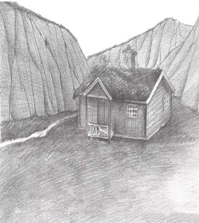 山间小屋怎么画?具体的绘画步骤有几步?