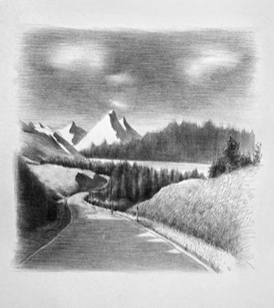 风景素描怎么画?具体的画法是什么?