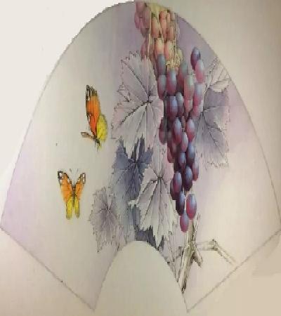 葡萄怎么画?染色绘画步骤有哪些?