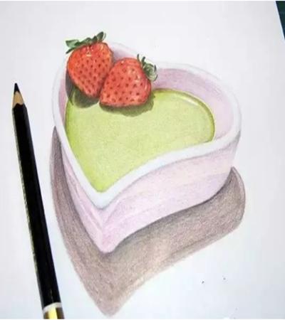心形草莓盒子怎么画?有哪些绘画步骤?
