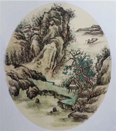 山水风景怎么画?超级详细的国画步骤分享