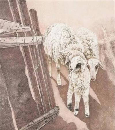 绵羊怎么画?有哪些绘画步骤?