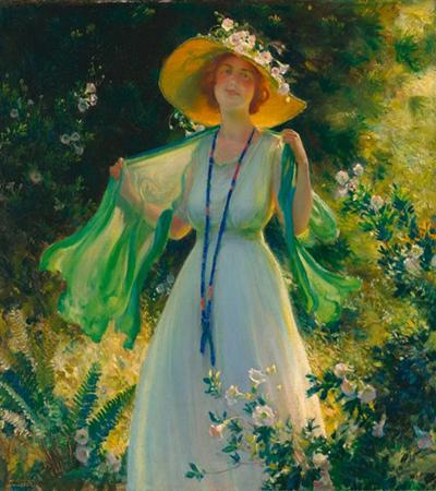 油画作品欣赏,如何画油画人物?
