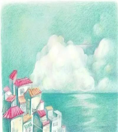 海边房屋怎么画?绘画步骤有哪些?