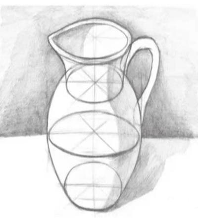 水罐结构怎么画?如何构图?