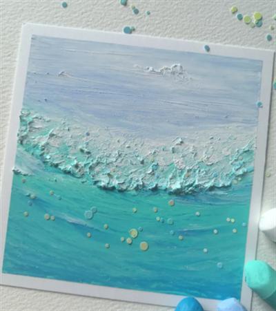 大海怎么画?如何有技巧的画出海浪?