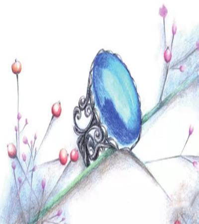 蓝宝石戒指怎么画?绘画步骤有哪些?