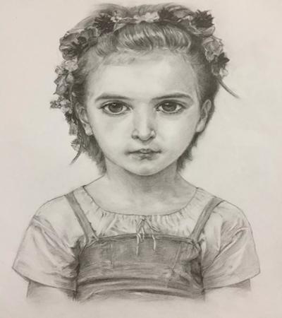 可爱的小女孩怎么画?有哪些绘画步骤?