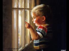 法国艺术家卓兰(Donald Zolan)儿童水彩画系列作品欣赏四