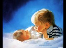 法国艺术家卓兰(Donald Zolan)儿童水彩画系列作品欣赏五