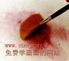 色粉画的握笔方法及色粉笔的使用方法(9)