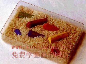 色粉画的握笔方法及色粉笔的使用方法(13)