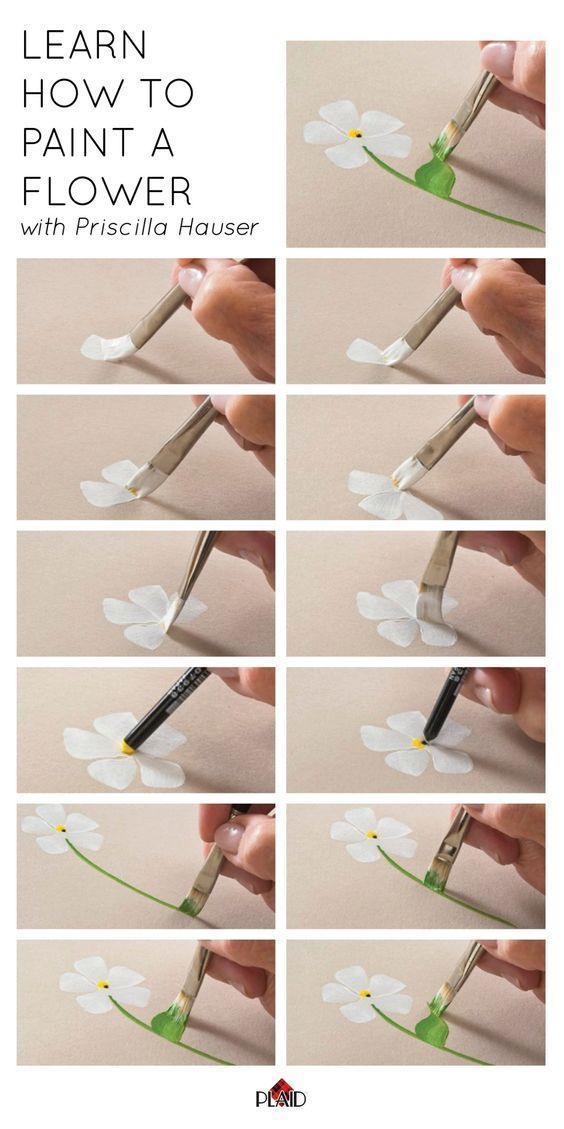 丙烯画入门教程步骤图,适合入门新手