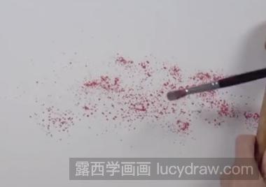 樱花树的画法