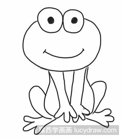 变异母体_怎么画一只坐着的青蛙-露西学画画