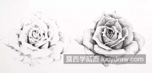 钢笔画作品