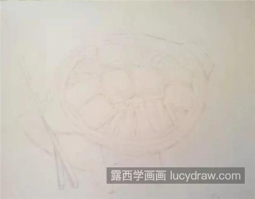 豆腐杂锅怎么画