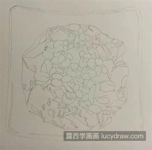 仙草冻怎么画